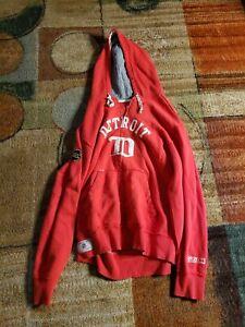 Detroit Redwings Throwback Hoodie Jacket Zip XL NHL