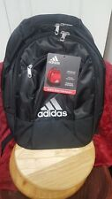 ADIDAS STRIKER TEAM BLACK BACKPACK CLIMACOOL BASKETBALL SOCCER SCHOOL BAG