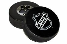 NHL Shield Logo NHL Hockey Puck Bottle Opener