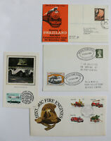 Train Railway Car Transport FDC First Day Cover Maxi Card 17 Lot