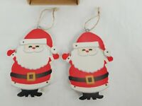 PM329 Feliz Navidad 28cm Spanish Count Down To Christmas Santa Plaque