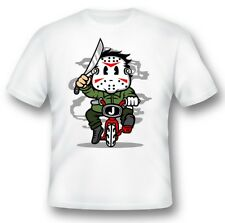 Jason Minibike Tee shirt black or white