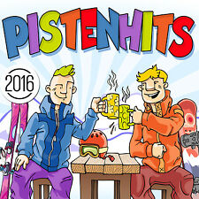 CD Pistenhits 2016 di Various Artists 2CDs
