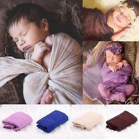 Newborn Baby Infant Wrap Knit Towel Baby Photography Props Wraps Cloth Gauze