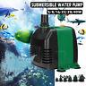 5~40W Submersible Pump Fish Tank Aquarium Pond Fountain Spout Water Pump 1800L/H