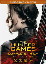 The Hunger Games Complete 4 Film Collection DVD Digital