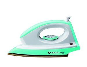Bajaj Majesty Canvas 1000 Watts Dry Iron Home Purpose free USA universal plug