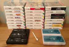 JOB LOT 23 Nintendo DS Games, 5 Travel Cases + 3 Styluses
