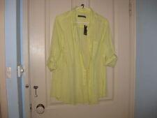 Sportscraft Button Down Shirt Solid Regular Tops & Blouses for Women