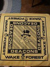 Vintage Wake Forest Demon Deacons Bandana