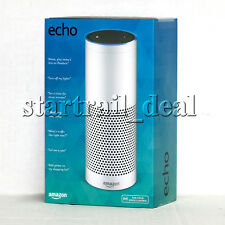 NEW Amazon Echo Bluetooth Wi-Fi Smart Speaker with Alexa 1st Generation White