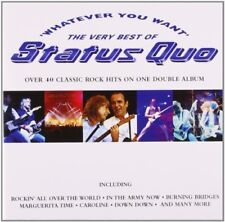 Status Quo - Whatever You Want: The Very Best of Status Quo - Status Quo CD 92VG