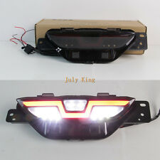 White Reversing Light LED Light Guide Brake Light Night DRL for Toyota C-HR 17+