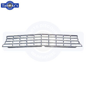 1964 64 Chevy II Nova Front Aluminum Grille Grill with Hardware New NICE Quality