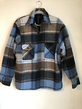 """Vintage 1960's  Towncraft Penneys Shirt Size L  Pit To Pit 24"""" Wool"""