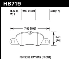 Hawk Disc Brake Pad Rear / Front for Porsche 911, Boxster, Cayman / HB719W.668