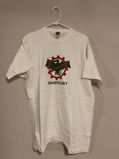 Vintage 1990's Single Stitch T-Shit, 'No Dragon Day,' Fruit of The Loom Tag