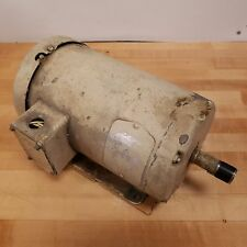 Baldor M3559T AC Motor, 3HP, 3450 RPM, 145T Frame, 208-230/460 VAC - USED