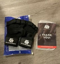 Fit Active Sports RX1 Weight Lifting Gloves Small for Workout Training Gym New