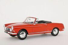 Peugeot 404 Cabriolet 1965 rot 1:18 Norev Neu 184779
