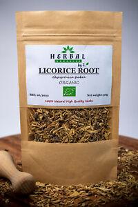 Licorice Liquorice Root Dried Herb ( Glycyrrhiza glabra ) Lukrecja ORGANIC 50g