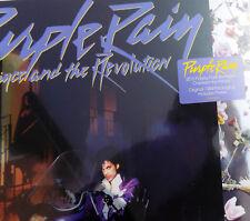 PRINCE LP Purple Rain 180g REMASTERED 2017 SILVER Slv + Promo Info sht IN STOCK