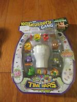 The Grossery Gang Series 5 TIME WARS 10 Pack Grosseries Weapons