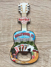 Hard Rock Hotel Hollywood,FL v16 Guitar Bottle Opener Magnet !! Awesome !!
