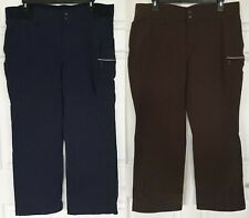 New Trading Black Hills Water Repellant Pants Espresso, Navy Blue Women's 20x31