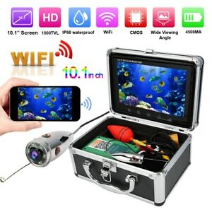 10.1'' TFT LCD WiFi Video Underwater 1000TVL Camera IP68 Waterproof Fish Finder