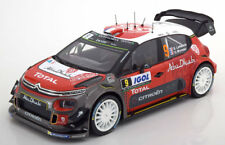 1 18 Norev CITROEN C3 WRC #9 Rally Korsika Lefebvre/moreau 2017