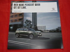 PEUGEOT 5008 GT + GT Line Prospekt von 2016