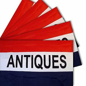 3x5 3'x5' Wholesale Set 5 Pack of Advertising Antiques Business 5 Flags Flag