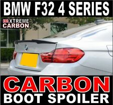 BMW 4 Series coupe F32 Carbon Rear Boot Spoiler M4 Style UK Stock