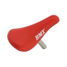Red BMX Trick Bike Bicycle Youth Kids Boys Girls Saddle Seat w/22.2 Seatpost