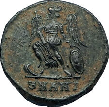 CONSTANTINE I the GREAT Founds Constantinople Original Ancient Roman Coin i67408