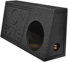 "Qpower QBTRUCK110V Single 10"" Truck Ported SPL Empty Woofer Box w/Liner Spray"