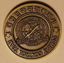 Korean Combat Control Team Special Tactics ROKAF Air Force Challenge Coin PJ CCT
