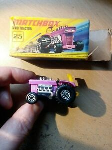 Matchbox Superfast MB25 MOD TRACTOR boxed