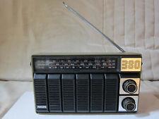 Radio portative vintage FM/LW/MW Philips 90AL380/51 en boîte