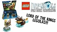 New LEGO Dimensions Lord Of The Rings Legolas Arrow Fun Pack Kid's Building Toy