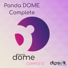 Panda Dome Complete 2020 1, 3, 5 and unlimited PC 1, 2, 3 Year Global Protection