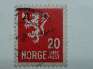 2 x NORWAY STAMPS - 20 - 25