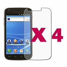 4x Clear LCD Screen Protector Guard Cover Film T-Mobile Samsung Galaxy S2 T989