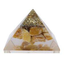 Heilende Energie Generator Orgonite Reiki Edelstein Aventurin Orgon-Pyramide