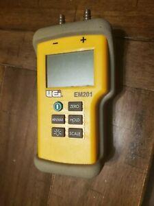 UEi EM201 Differential Pressure manometer