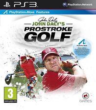 PS3 JUEGO JOHN daly's Prostroke Golf ( mover Apoyo) PRODUCTO NUEVO