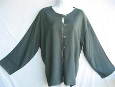 TIENDA HO~Green Slate~MOROCCAN COTTON~Mali Top/Jacket~QUILTED~Free/OS(M-1X?)