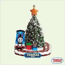 Thomas The Tank & Friends-2005 Hallmark Ornament Christmas Train Tracks *Nib*