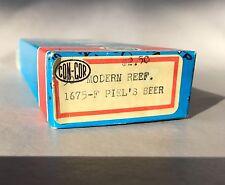 con-cor Piel beer 50' Modern Reefer train car N scale 1675 F vintage 1980